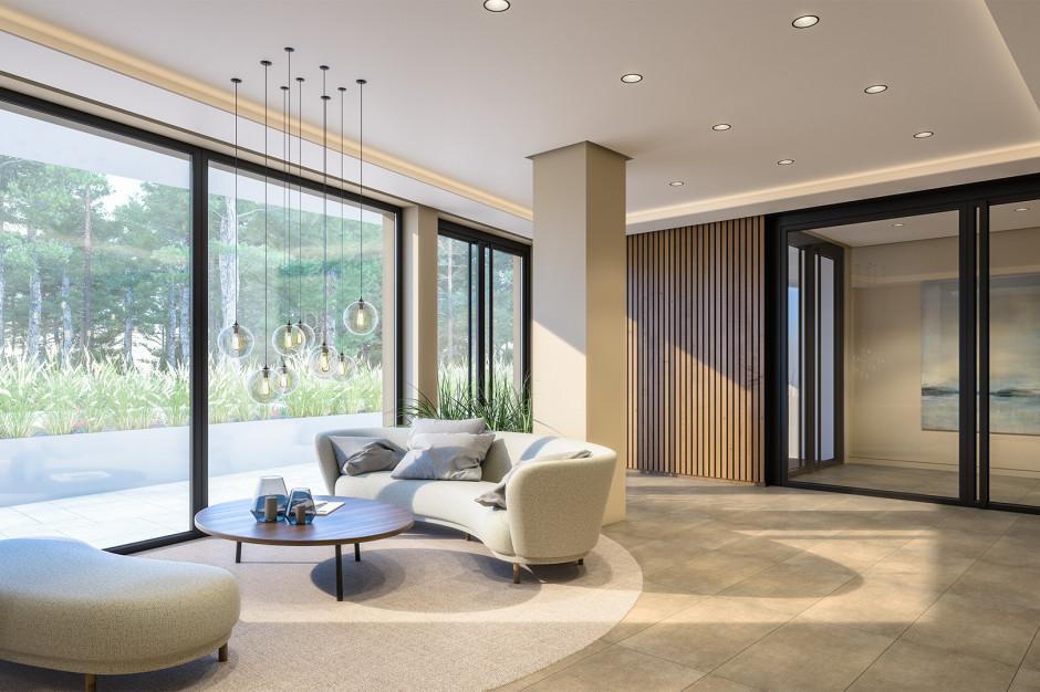 Duży apartament wakacyjny - duże możliwości