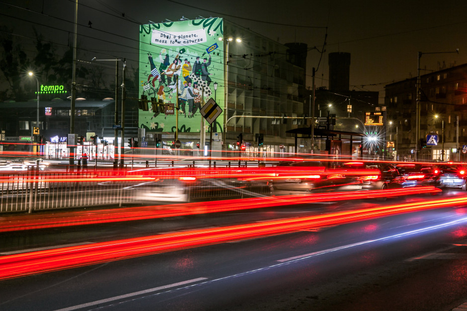Aleja Bielany z proekologiczną inicjatywą w formie wielkoformatowego muralu
