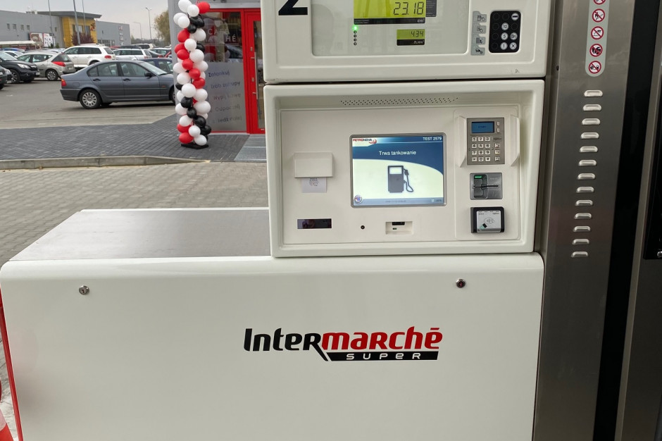 Pierwsza stacja benzynowa pod szyldem Intermarché w Skierniewicach
