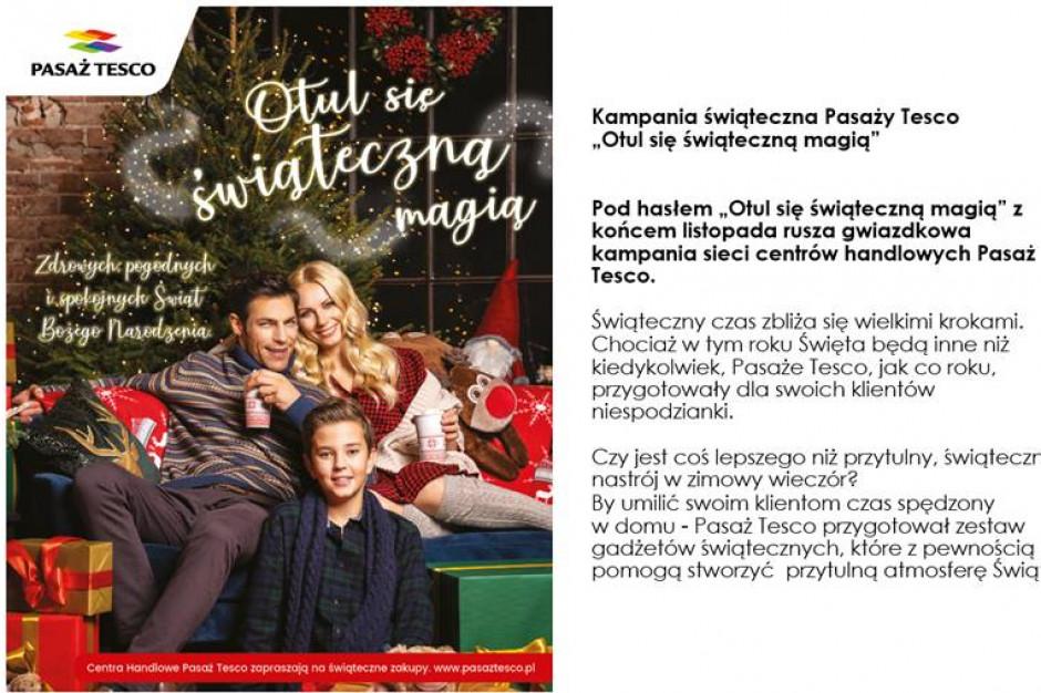 Pasaż Tesco z nową kampanią świąteczną