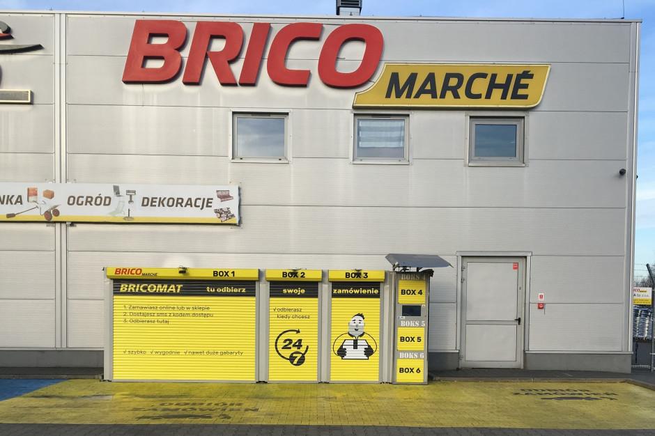Do końca przyszłego roku bricomaty przy wszystkich marketach  Bricomarché