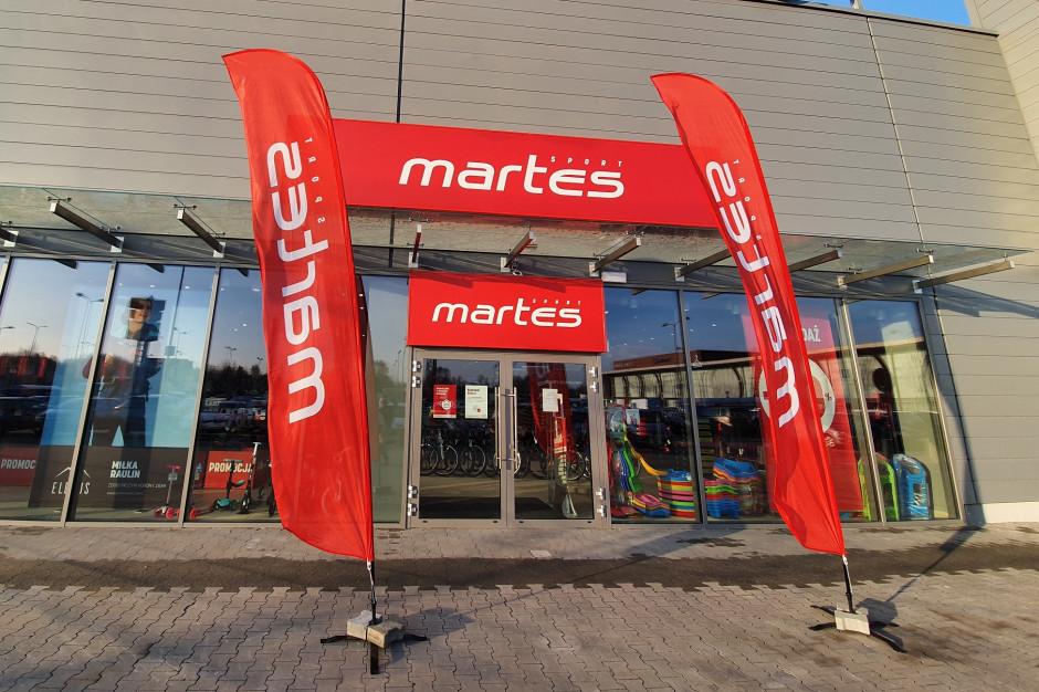 Martes Sport podwaja powierzchnię w Galerii Olimpia w Bełchatowie