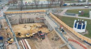 Zaglądamy na plac budowy nowego biurowca Skanska