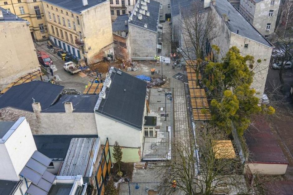 Jedna z najpopularniejszych turystycznych atrakcji Łodzi w przebudowie