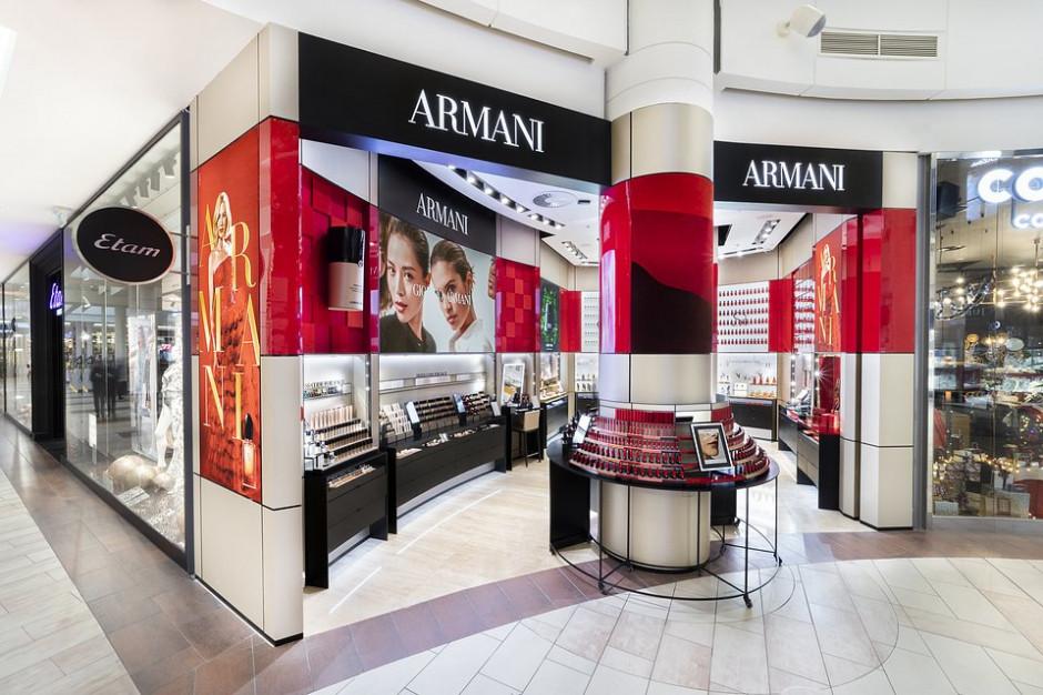 Galeria Mokotów z pierwszym butikiem Giorgio Armani Beauty