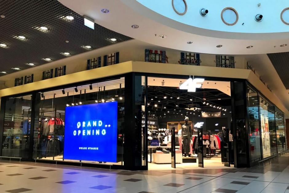 Tuż przed Świętami w CH Auchan Mikołów otworzył się sklep 4F