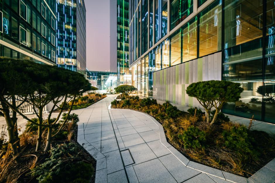Olivia Business Centre ma własny park kieszonkowy