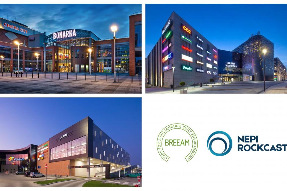 NEPI Rockcastle z zieloną certyfikacją trzech galerii handlowych