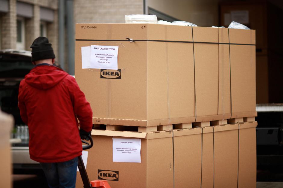 IKEA kontynuuje wsparcie dla ratowników medycznych