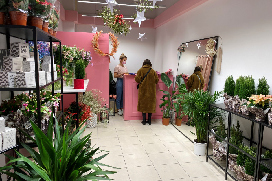 Galeria Warmińska wzbogaciła ofertę o pierwszą kwiaciarnię