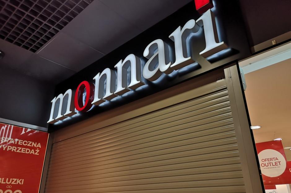 Monnari zamknie część sklepów. Galerie i centra handlowe przestały być atrakcyjne