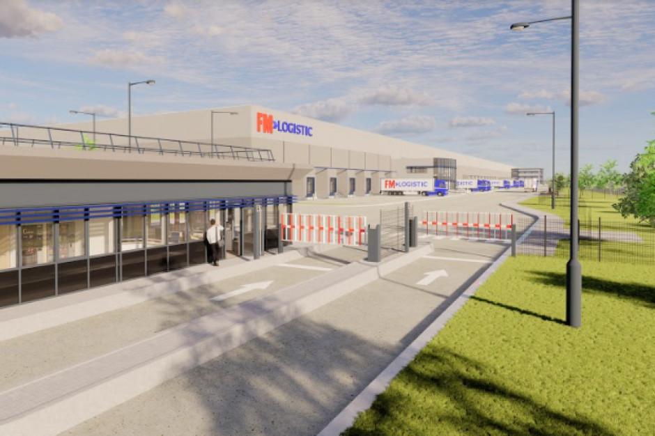 Między Warszawą a Łodzią FM Logistic buduje nową platformę logistyczną