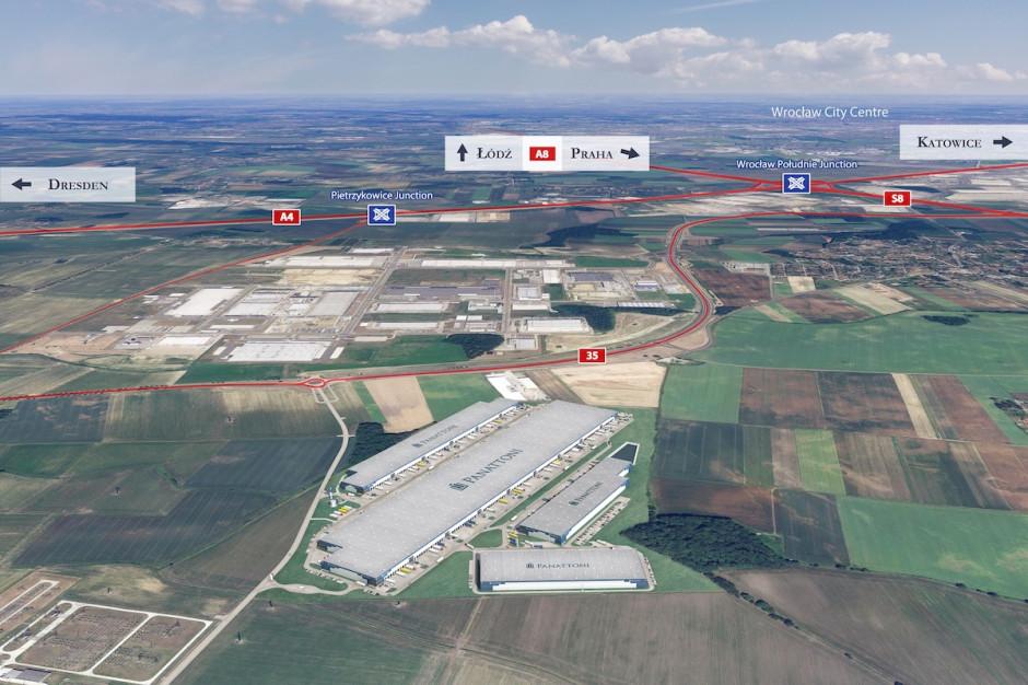 Dolny Śląsk bogatszy o gigantyczny kompleks logistyczno-przemysłowy. Panattoni rusza z nową inwestycją