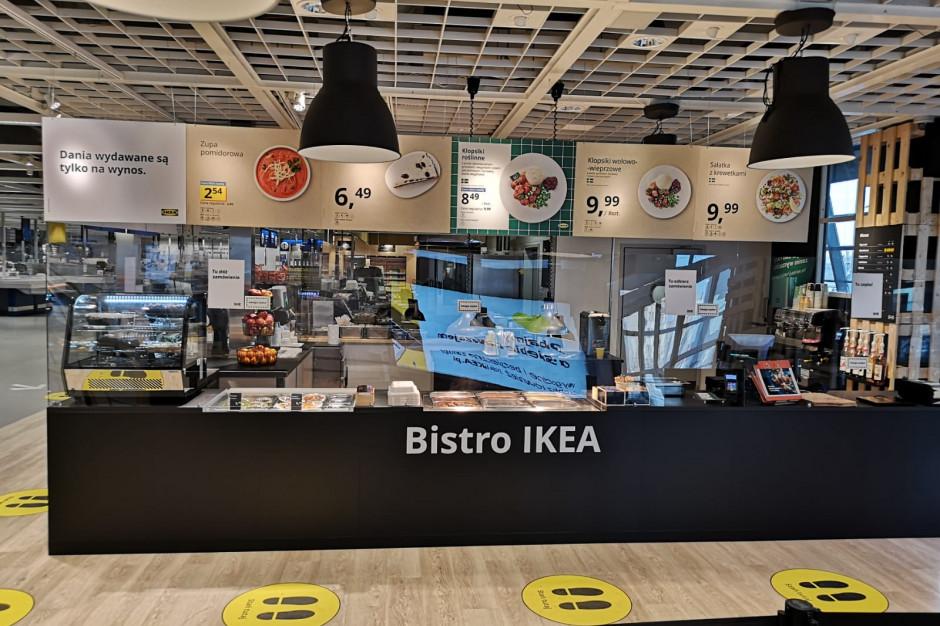 Ikea serwuje na wynos. Również wegetariańsko
