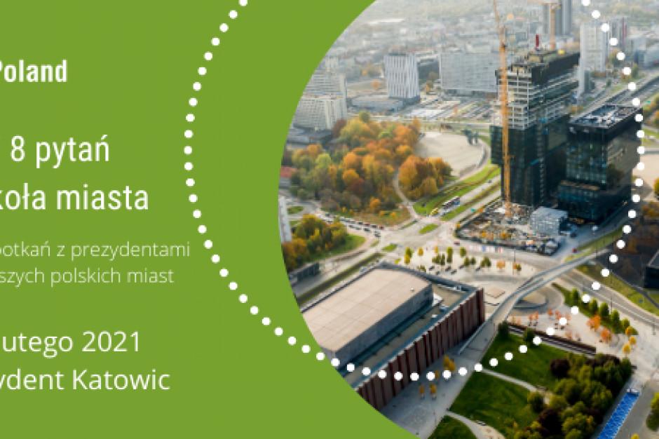 Jak będą zmieniały się Katowice? ULI Poland zapyta prezydenta