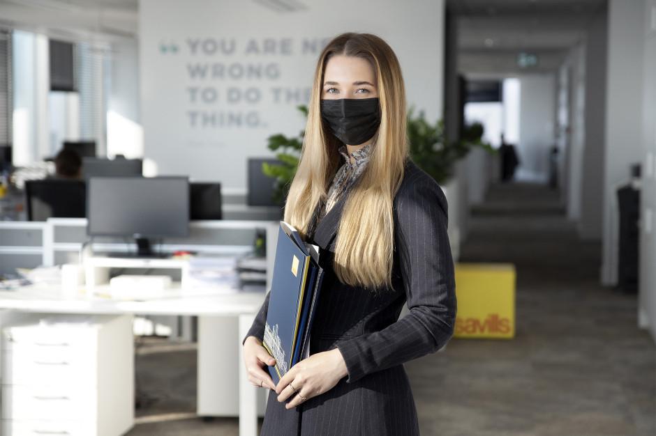Zaglądamy do biura Savills w trakcie pandemii