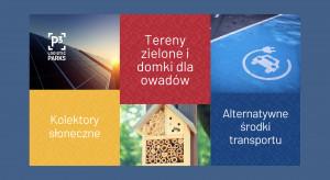 Zielona gwiazda na magazynowej mapie Polski