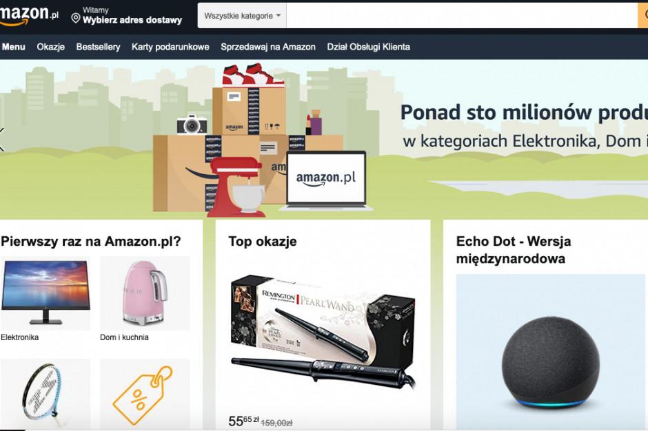 Amazon w wersji PL. Gigant e-commerce uruchomił polską wersję sklepu