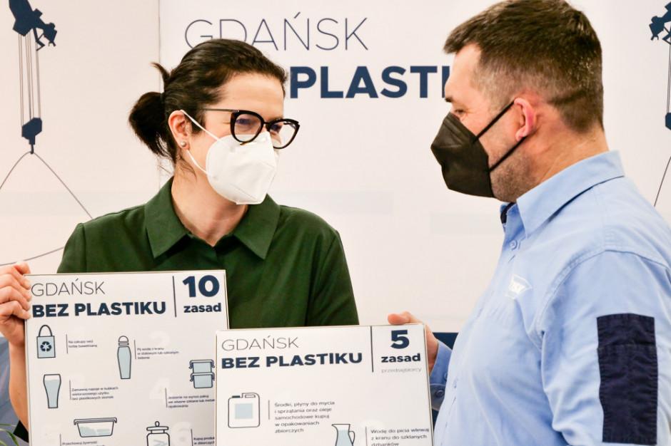 Jysk i Gdańsk bez plastiku