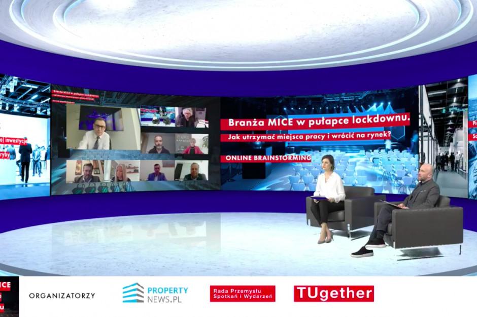 MICE: Jak utrzymać miejsca pracy i wrócić na rynek? Za nami debata Propertynews.pl i TUgether!