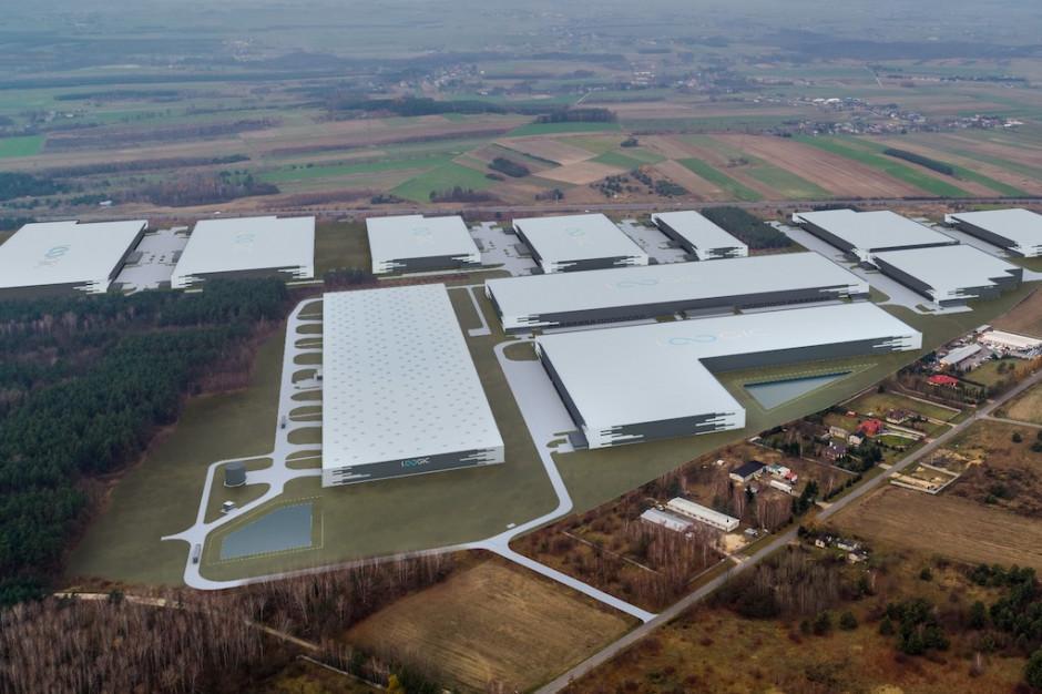 JYSK wybrał miejsce na nowy magazyn. FB Antczak wchodzi na plac budowy pierwszego obiektu Loogic Park Radomsko