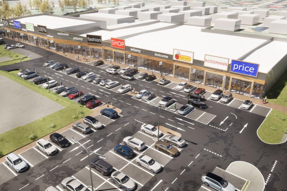 Saller rusza z rozbudową parku handlowego w Inowrocławiu