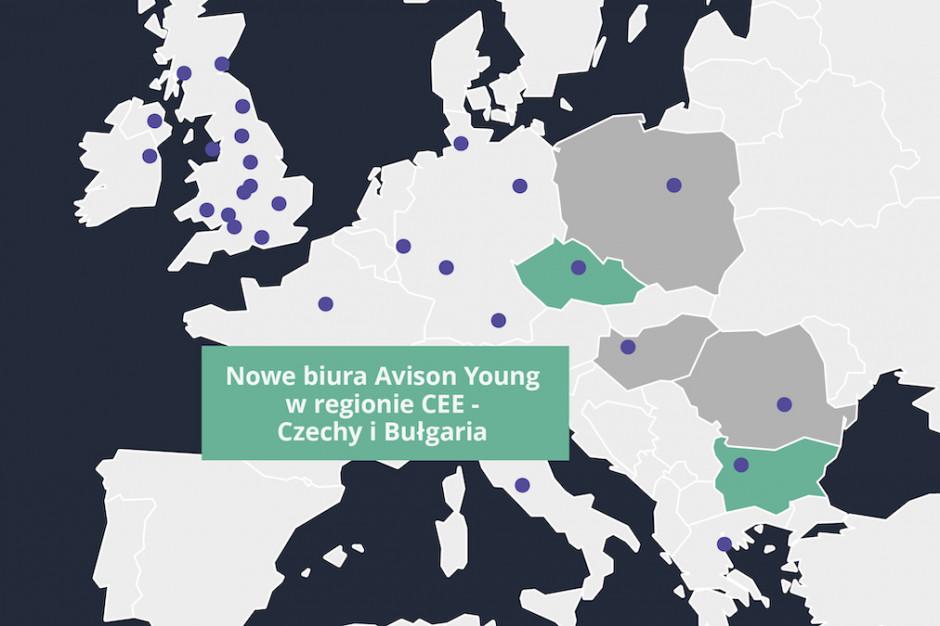 Avison Young podkręca tempo ekspansji w CEE. Nowe biura na starcie
