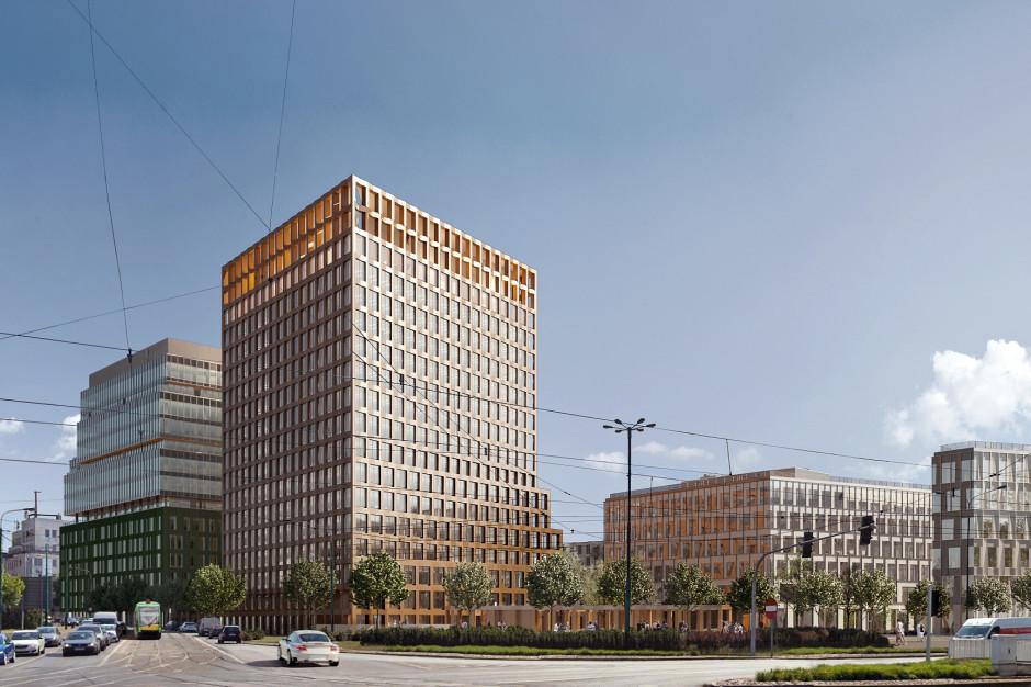 Skanska wchodzi na plac budowy nowego biurowca w Poznaniu