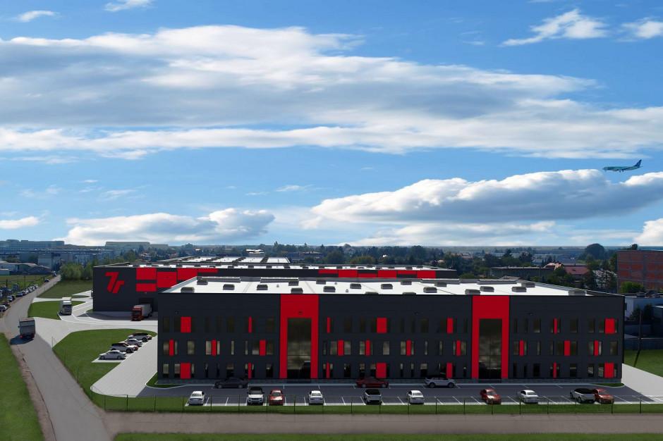 Najemca z branży wystroju wnętrz bierze powierzchnię w 7R City Flex Warsaw Airport I