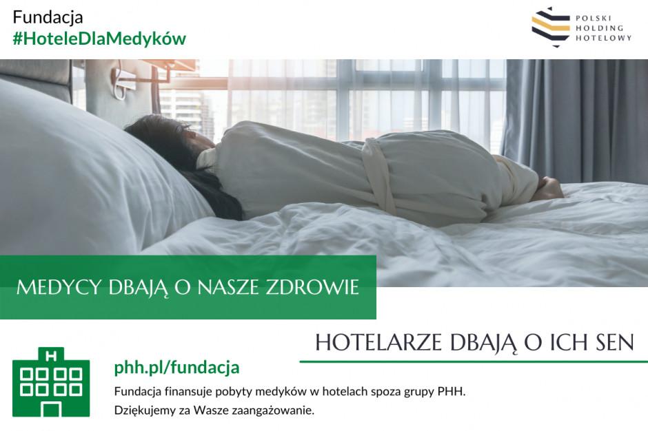 Hotele dla Medyków. Ponad milion zł na wsparcie walki z koronawirusem