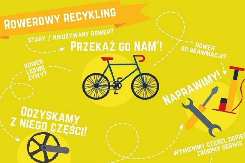 Charytatywnie i rowerowo w Galerii Łomianki