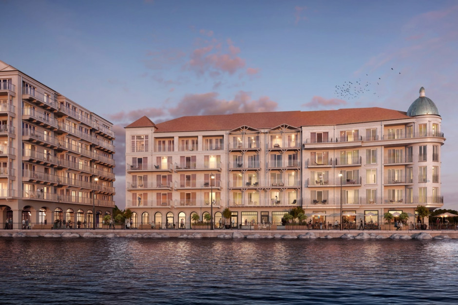 Marina Royale powiększy zasób apartamentów wakacyjnych. Drugi etap w budowie