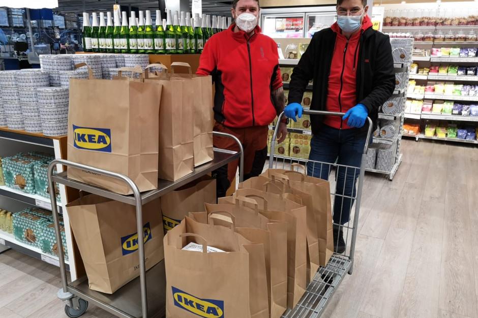 Słynne klopsiki Ikea trafiły do katowickich medyków
