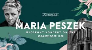 Maria Peszek zaśpiewa w Hali Koszyki