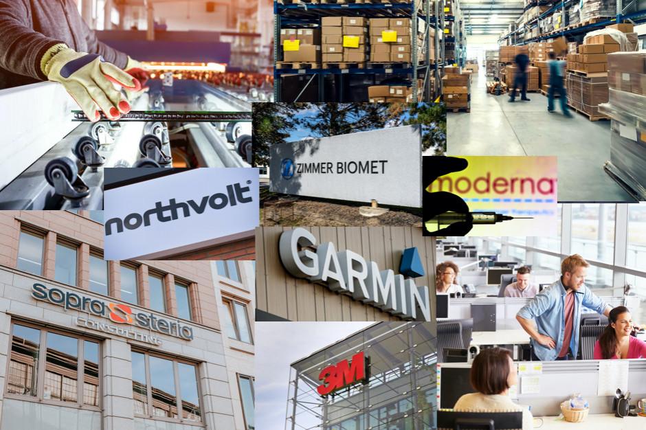 Przedsięwzięcia warte miliony euro i tysiące nowych miejsc pracy. Oto największe inwestycje 2021
