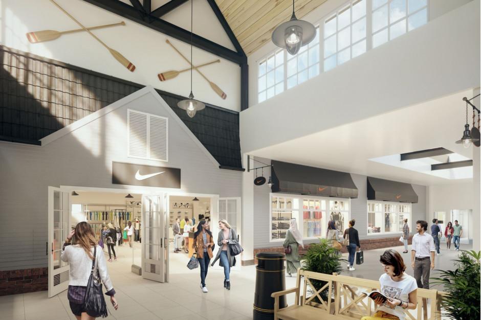 Nike powiększy salon w Designer Outlet Gdańsk