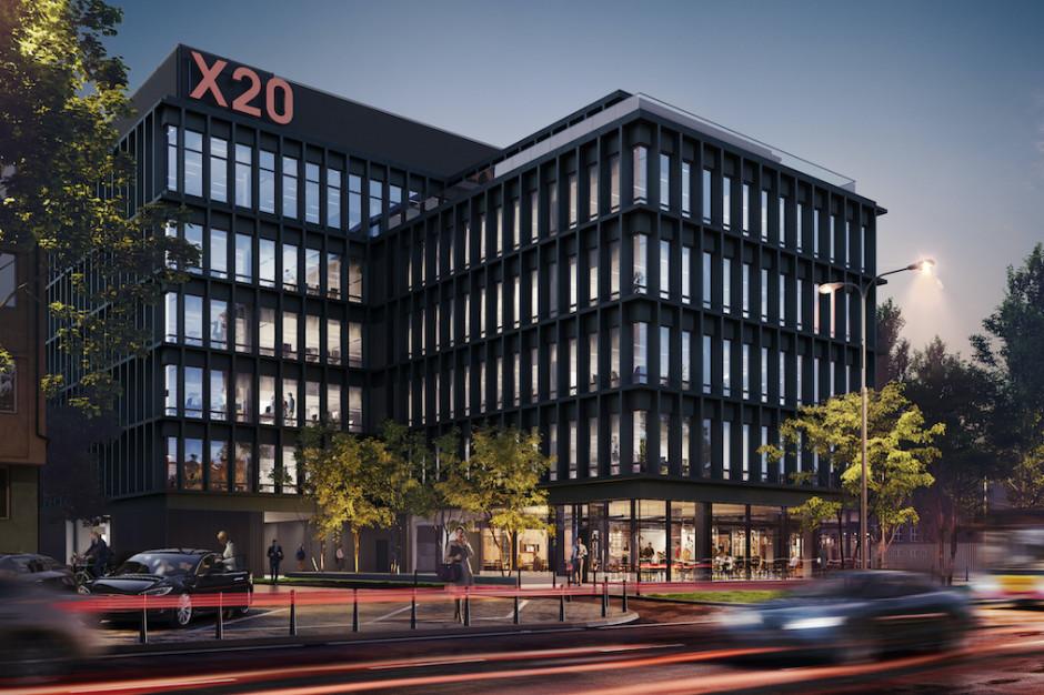 Biurowy X20 zapełnia się najemcami