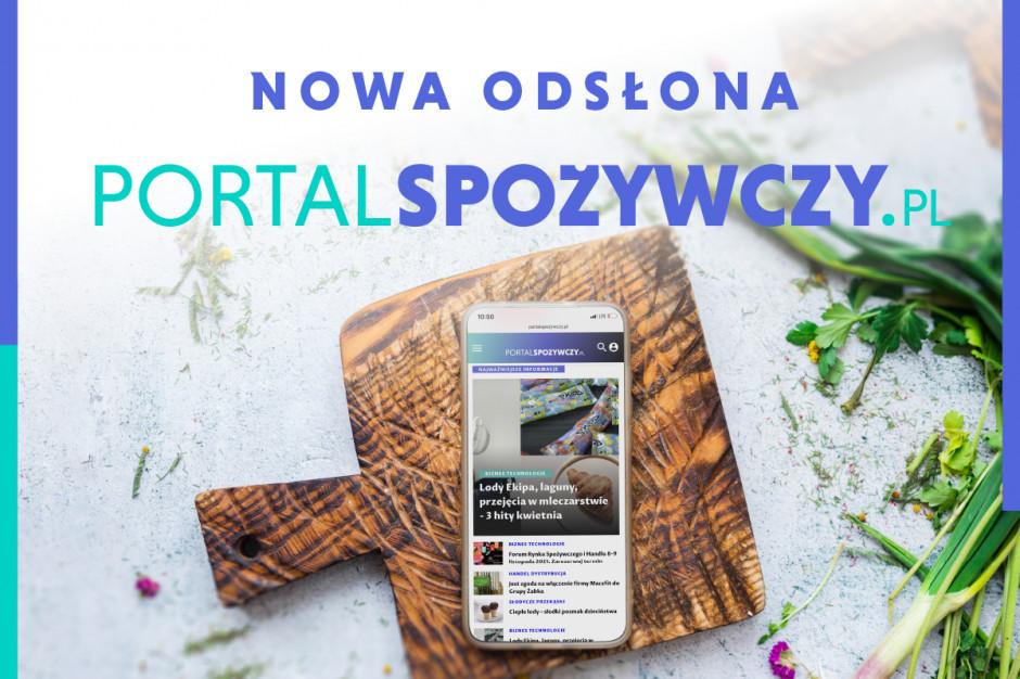 Portalspozywczy.pl w nowej odsłonie