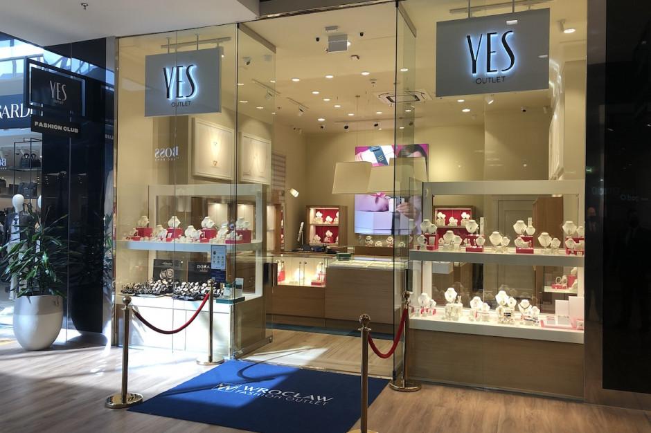 YES otworzył pierwszy outlet w południowo-zachodniej Polsce