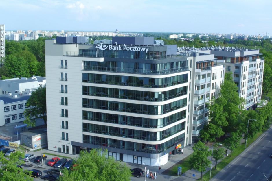 Bank Pocztowy rezygnuje z części powierzchni biurowych w Warszawie. Potem w Łodzi