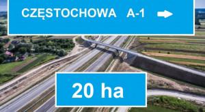Częstochowa: grunt inwestycyjny przy węźle autostrady A1 szuka nabywcy