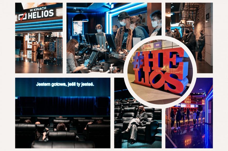 Tomasz Jagiełło o uruchomieniu kin Helios: To świetny start