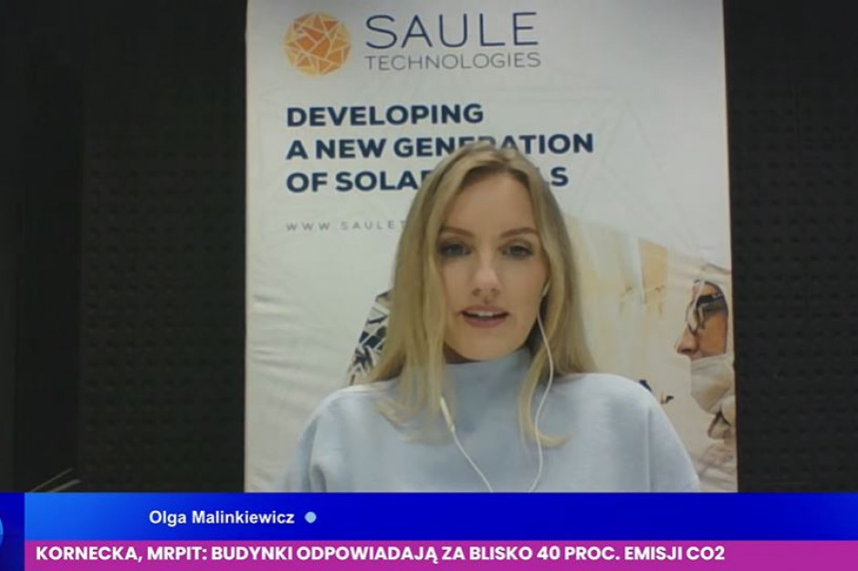 EEC: Olga Malinkiewicz, Saule Technologies o rewolucji na rynku fotowoltaiki