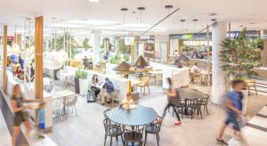 Strefa food court VIVO! Lublin w blokach startowych