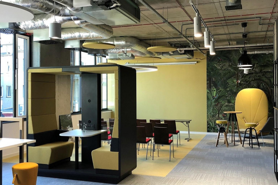 Zielony by Synergia z nową funkcją. To pierwsza taka powierzchnia biurowa w centrum Łodzi