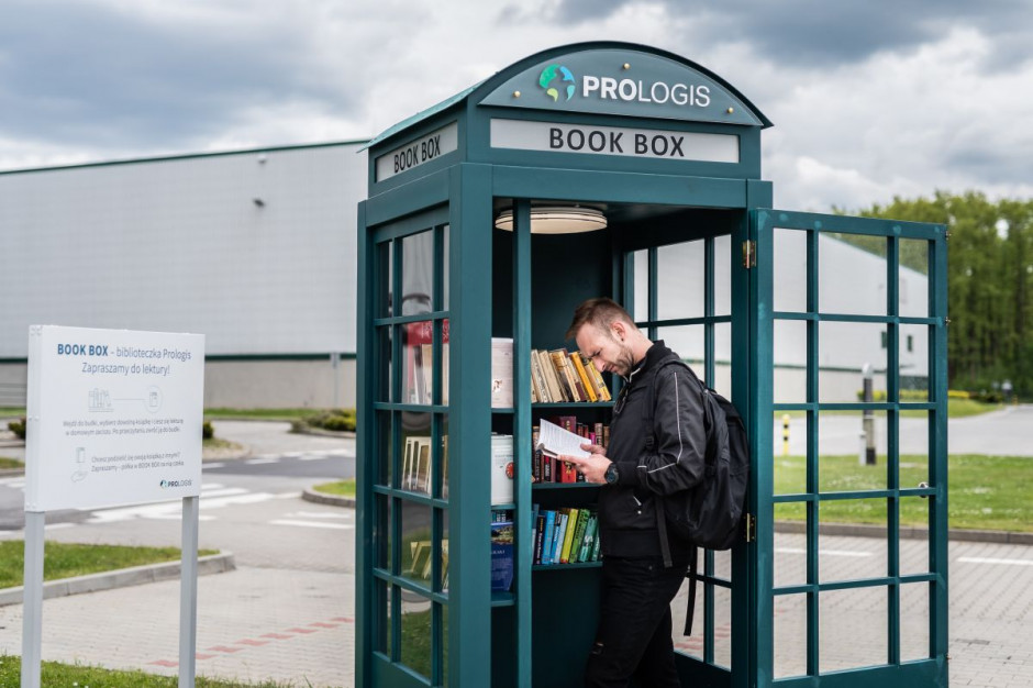 Prologis uruchomił Book Boxy