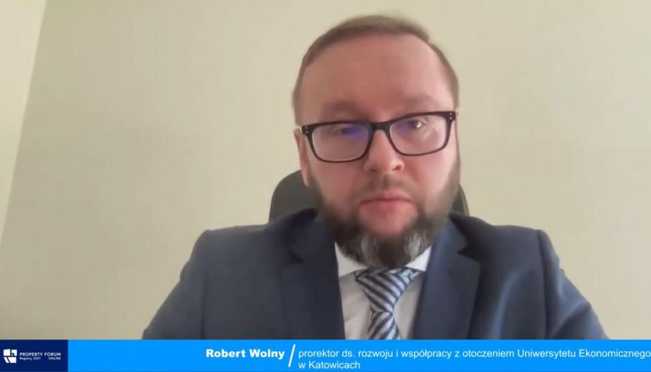 Robert Wolny, prorektor Uniwersytetu Ekonomicznego w Katowicach.