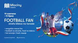 Galeria Młociny ze strefą dla kibiców Euro2020