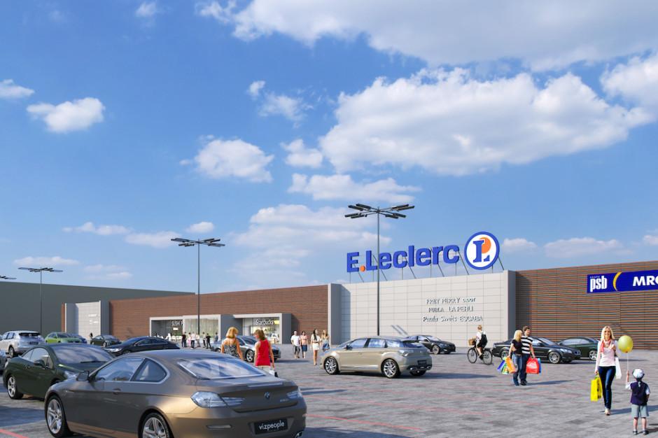 E.Leclerc w Zamościu będzie większy. Startuje rozbudowa centrum handlowego