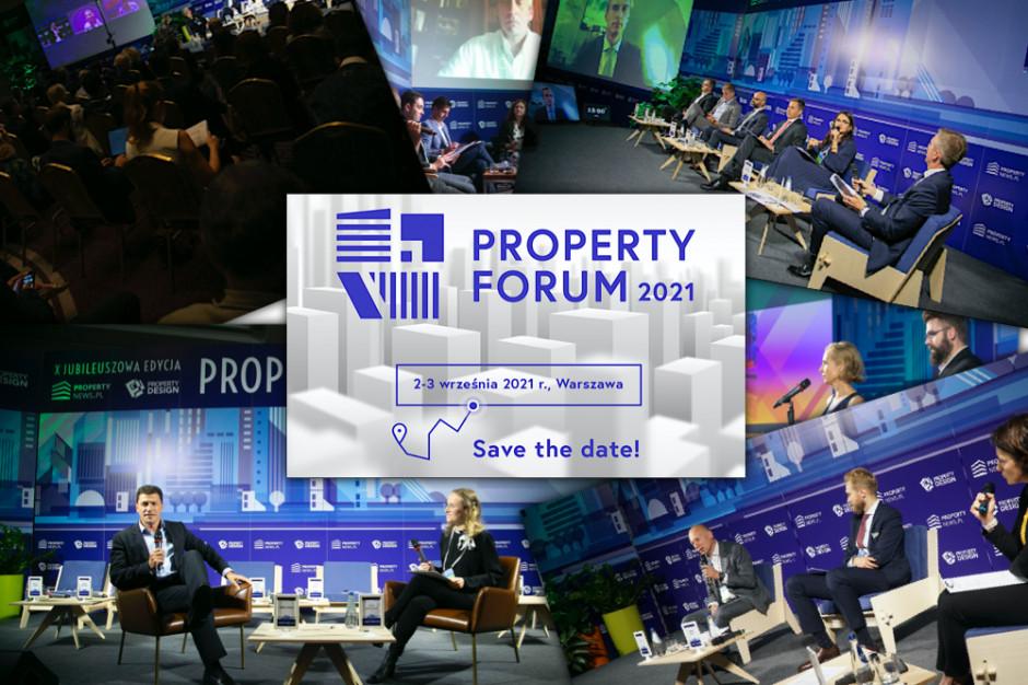 Ruszyła rejestracja na Property Forum 2021: Bądźcie z nami!
